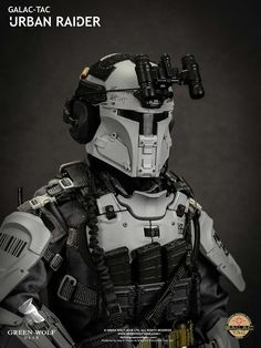 Combat Armor, Military Armor, Military Gear, Concept Weapons, Armor Concept, Mandalorian Cosplay, Martial, Military Action Figures, Futuristic Armour
