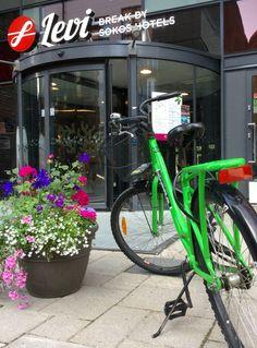 Break Sokos Hotel Levi, Finland, Lapland Levi round-the-year activity resort. Rent a bike! Summer Activities, Finland, Bike, Bicycle, Bicycles