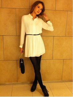 MERCURYDUO Shirt Dress 41% off @ runway channel webstore