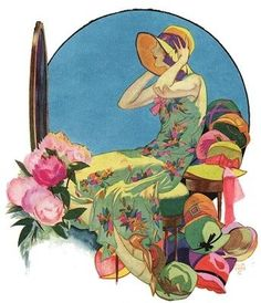 John Holmgren - Cover for Collier's, 1929
