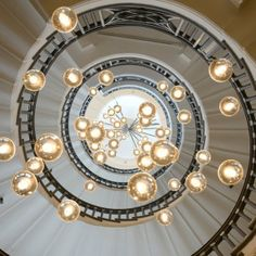 Bocci chandelier graces Cecil Brewer staircase | London, UK