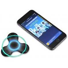 Enceinte Bluetooth® personnalisée et Toupie anti-stress NoPanic