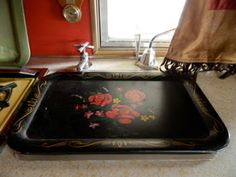 rv storage ideas | This is another of my favorite ways to get extra surface space--by ...