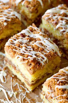 Extreme Crumb Cinnamon Roll Coffee Cake