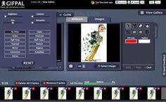 GIFPAL, excelente utilidad web gratuita para crear gif animados Software Libre, Web 2.0, Technology Tools, Tic Tac, Apps, Teaching, How To Make, Blog, Image