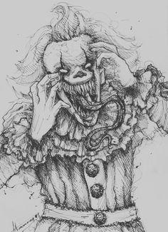 Garbage boy stinkman belongs in the toilet Creepy Sketches, Creepy Drawings, Dark Art Drawings, Pencil Art Drawings, Art Drawings Sketches, Monster Drawing, Monster Art, Horror Drawing, Dark Art Illustrations