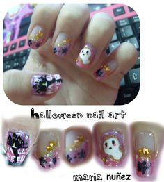 halloween nail art    http://maria041296.blogspot.com.es