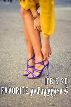 From bloggers to brands, editors and retailers, here are IFB's 20 favorite pinners: http://bit.ly/I6mjw4