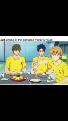 Ok I get it. Hands are hard to draw.<<<No, why would you think that?! It's because Nagisa is using the protein powder.
