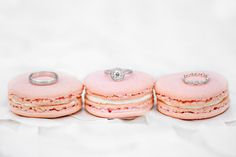 Oh, sweet Great Gatsby inspired shoot.you had me at Miu Miu crystal covered heels. of this modern meets vintage stylized wedding by mStarr event styling + design . Macaroons Wedding, Pink Macaroons, French Macaroons, Macarons, Wedding Photoshoot, Wedding Shoot, Wedding Rings, Chic Wedding, Wedding Cakes