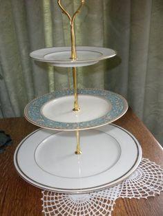 Vintage Cupcake Dessert Stand