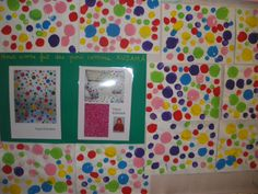 Yayoi Kusama et ses jolis pois Yayoi Kusama, Craft Activities For Kids, Crafts For Kids, Saint Roch, Album Jeunesse, Dot Day, Ecole Art, Art Club, Art Plastique