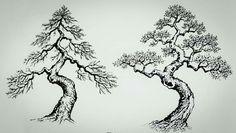 Bonsai Art, Bonsai Garden, Plantas Bonsai, Juniper Bonsai, Bonsai Styles, Life Tattoos, Tree Of Life, Asian Art, Indoor Plants