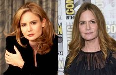 Jennifer Jason Leigh (1997 and 2015) - Wyatt Counts/AP Photo; Chris Pizzello/Invision/AP