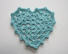 Granny Heart Pattern - I can think of so many wonderful uses for this adorable crocheted heart!