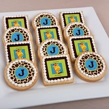 Monkey Girl - Personalized Cookies For Birthday Parties Baby Shower Candy, Baby Shower Favors, Baby Boy Shower, Baby Favors, Baby Cookies, Baby Shower Cookies, Owl Cookies, Ladybug Cookies, Cowgirl Cookies