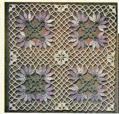 Vintage Crochet Patterns Three Crochet Blocks for by TheFoundBox