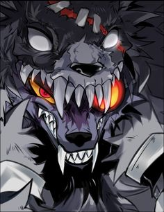 Weird Creatures, Fantasy Creatures, Mythical Creatures, Anime Furry, Anime Wolf, Fantasy Character Design, Character Art, Furry Wolf, Scary Art