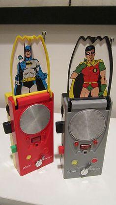 Mego Batman Batcoders 1976 Walkie Talkies Both Work Batman Robin Vintage | eBay