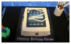 iPod Party Cake