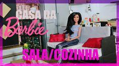Casa da Barbie  - Tour pela Sala/Cozinha (Cenário da novela IS ONLY YOU)