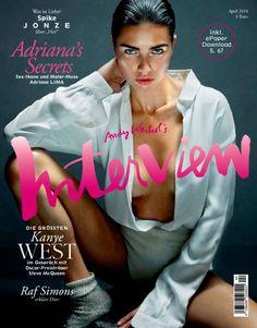 Adriana Lima for Interview Magazine Germany April 2014