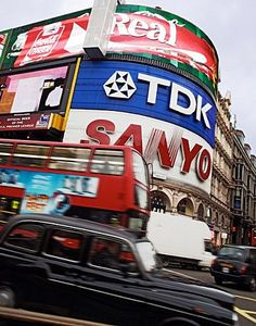 London's Picadilly Circus