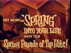 Drive-In Movie Theater Intermissions - Spring Coming Attractions (1950s)