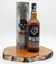 Smokehead High Voltage 58% (Ian Macleod) Cigars And Whiskey, Malt Whisky, Corona Beer, High Voltage, Barrels, Beer Bottle, Gin, Drinks, Rum