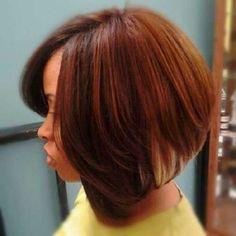 13.Short-Haircut-for-Black-Women ~ Pelo-largo.com