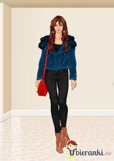 Spróbuj przygotować stylizację z modnym płaszczem! http://www.ubieranki.eu/ubieranki/6678/lekko-zwariowany-styl.html