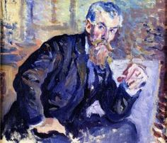 Portrait of Henri-Edmond Cross - Maximilien Luce - The Athenaeum