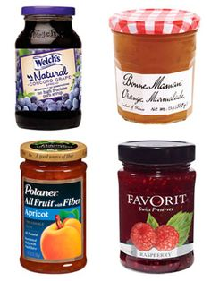 The Difference between Jam/Jelly/Preserves/Marmalade/Fruit Butter, etc