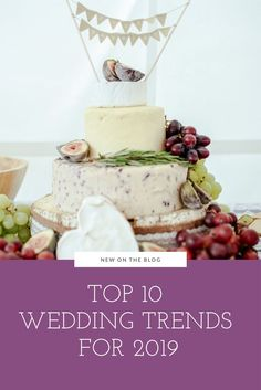 Top 10 Wedding Trends for 2019 Wedding Trends, Wedding Tips, Wedding Favors, Food Network Recipes, Wine Recipes, Welcome Gifts, Engagement Inspiration, Cocktail Napkins, Bridal Parties