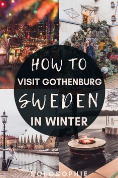 Sweden in Winter: Here's your ultimate guide to the best things to do in Gothenburg in November and December and January, including attractions and travel tips! Source by harperanne_co Look winter Sweden Travel, Norway Travel, Travel Europe, Solo Travel, Travel Tips, Travel Packing, Gothenburg Sweden, Stockholm Sweden, Europe Destinations