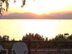 Sundawn at Lake Garda - july 2013