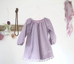 Little girl's dress . . . beautiful color and looks so comfortable