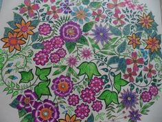 Colorindo com Canetas Esferográfica seus livros de colorir
