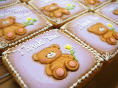 Thank You Bear Cookie   Cookie Connection