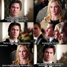 [#MakeDamonSalvatoreHappy2016] Day 6: Daroline ↳ 6x15 - Let Her Go ⠀ THE DEVELOPMENT! This moment is so important and I cried because his speech was beautiful  ⠀ I will post my 7x17 recap in 2 hours! ⠀ My edit give credit [#daroline#damonsalvatore#carolineforbes#tvd#thevampirediaries#vampirediaries|105.2k]