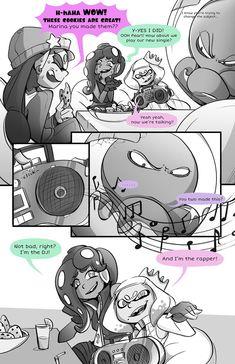 Embedded Splatoon Memes, Splatoon Comics, Super Smash Bros, Super Mario Bros, Pearl And Marina, Callie And Marie, Anime Stories, Storyboard Artist, Stay Fresh