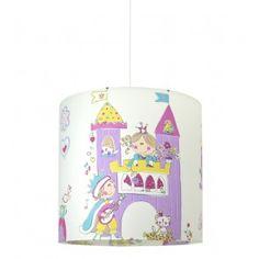 Hesperis Kids Κρεμαστό Παιδικό Φωτιστικό - Castle Princess