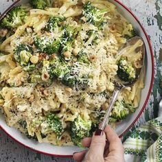 Sitron og parmesan gir mye smak til . Veggie Recipes, Vegetarian Recipes, Healthy Recipes, Good Food, Yummy Food, Parmesan, Food Inspiration, The Best, Food Porn
