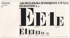 Charrette typeface designed by by Roch Deniau. Usually associated to Le Corbusier Le Corbusier, Stencil Font, Stencils, Typography Logo, Lettering, Calligraphy Letters, Design Museum, Modern Architecture, Fonts