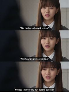 Quotes Drama Korea, Drama Quotes, Text Quotes, Mood Quotes, Qoutes, 2015 Quotes, Tumblr Quotes, Who Are You School 2015, Reminder Quotes