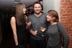 From the left - Izabela Zajfert (Digital One), Tomasz Pełczewski (Filmteractive host) and Agata Lepianka (Filmteractive Project Manager)