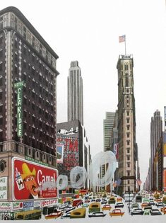 """""""This is New York"""" - M. Sasek Miroslav Sasek  - NYC"""