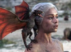 A baby dragon like the one the Khaleesi has on Game of Thrones, maybe I should get two to keep each other company.