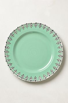 Elka Dinner Plate #anthropologie