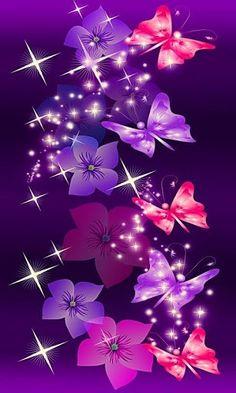 Beautiful Butterflies New Top Wallpaper Hd Wallpapers Purple Butterfly Wallpaper, Butterfly Background, Pretty Phone Wallpaper, Cellphone Wallpaper, Pretty Wallpapers, Galaxy Wallpaper, Wallpaper Backgrounds, Dragonfly Wallpaper, Butterfly Pictures